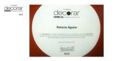 Indicação ao Prêmio Decorar - Profissional do Ano 2014.
